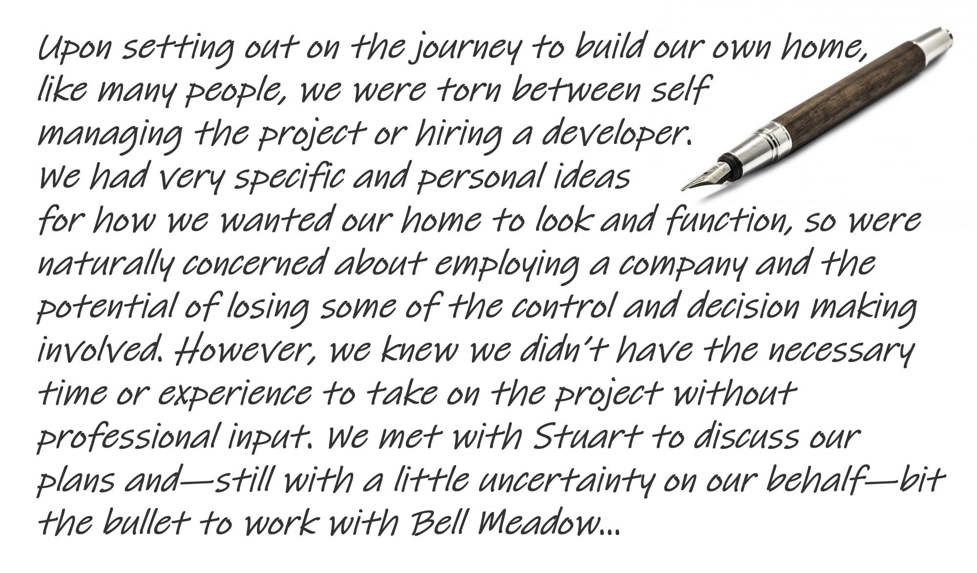 Bell Meadow Testimonials